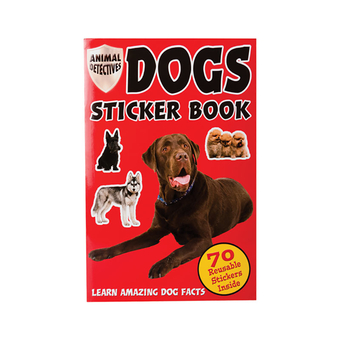 Animal Detective Sticker Book-Dogs