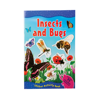 Amazing World Sticker Book-Insects