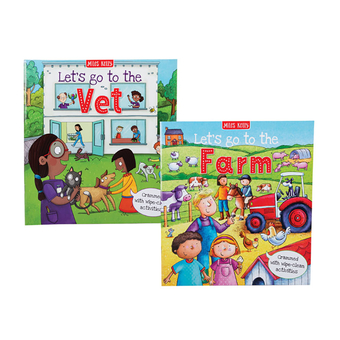 Lets Go To The Farm Activity Book
