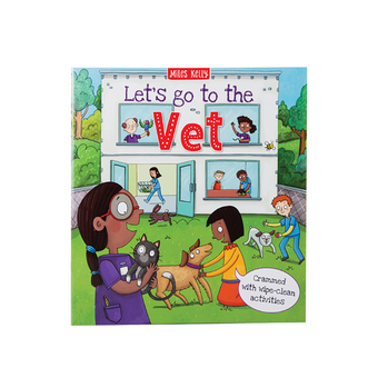 Lets Go To The Vet Activity Book