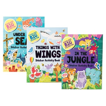 Big Sticker Fun Activity Book