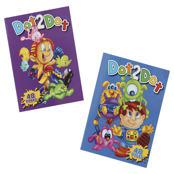 Dot To Dot Activity Book