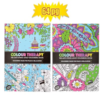 Colouring Therapy 64 Page