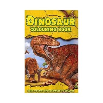 Dinosaur Colouring Book
