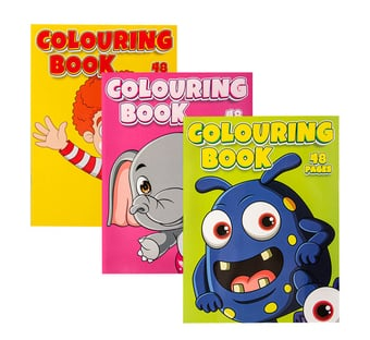 Animal Fun Colouring Books