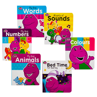 Barney Educational Board Book