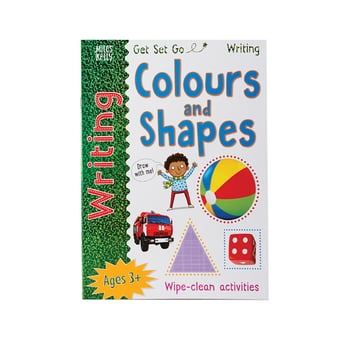 Learn To Write Colours & Shapes