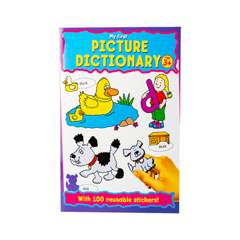 Picture Dictionary Sticker Bk