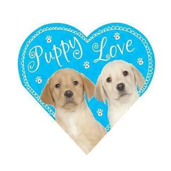 Heart Shaped Puppy Love