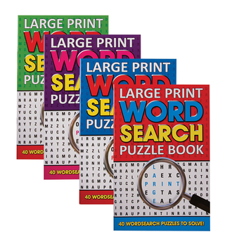 Large Print Wordsearch Books