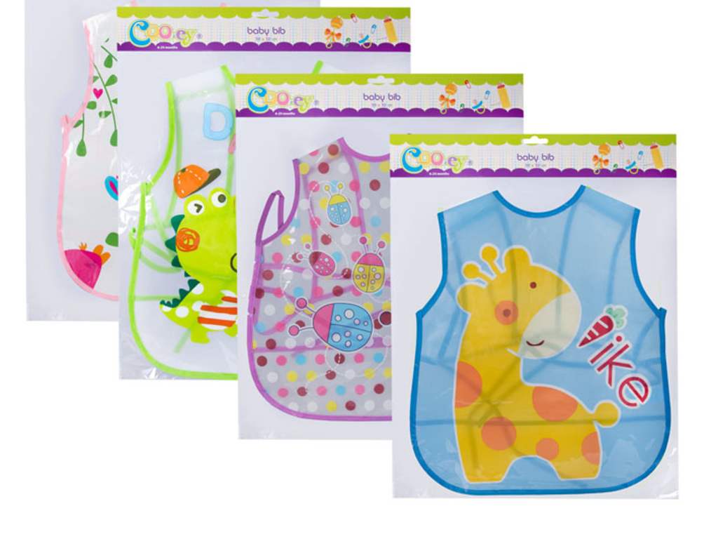 Baby Bib - Assorted Designs - The Crazy Store